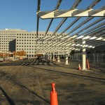 14 Clear Solar Canopies with 10 Degree tilt