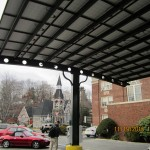 Architectural Solar Canopy, Stafford CT, Encon Solar