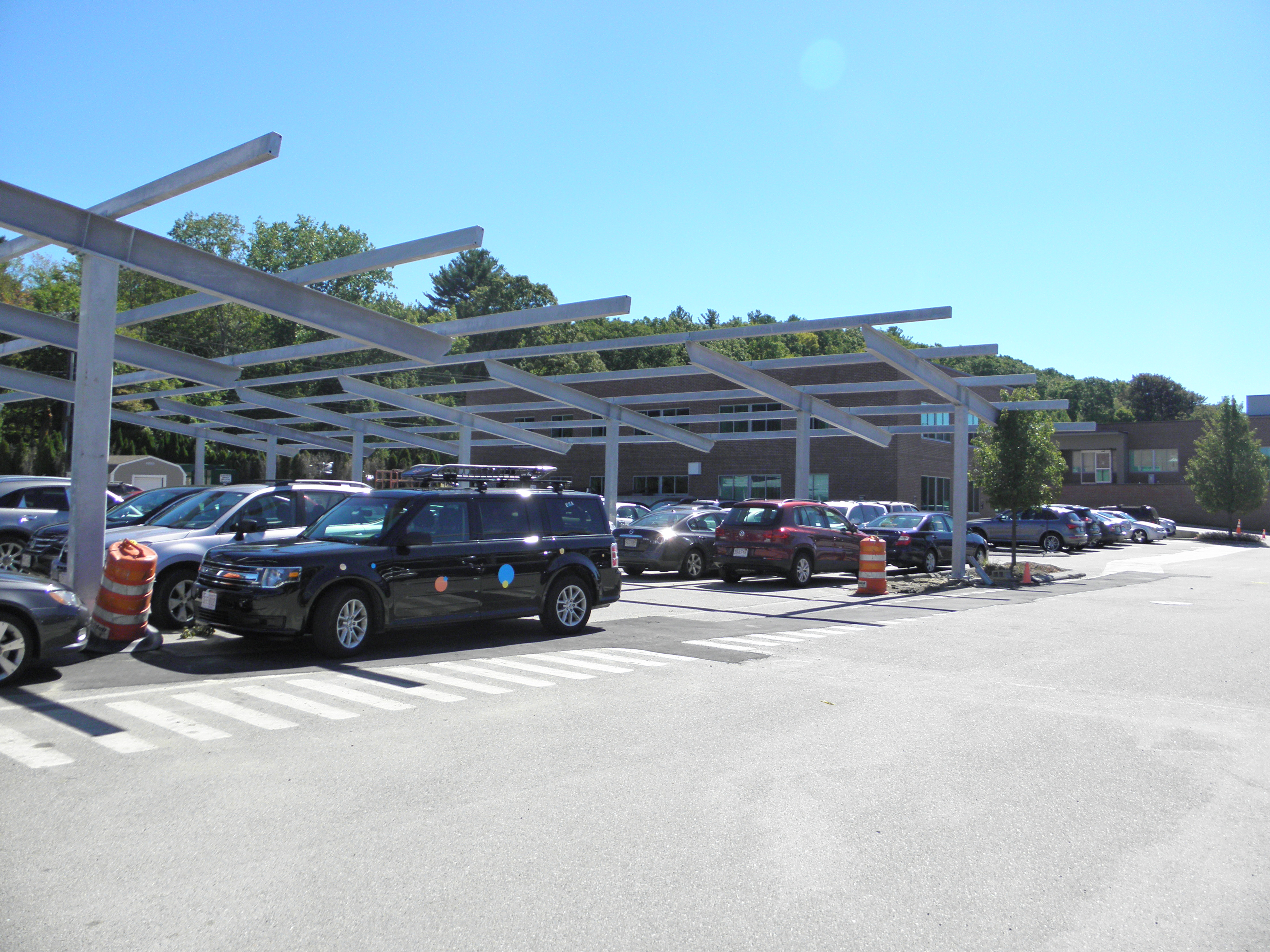 800 KW Solar Canopy & Solar Power Photo Gallery Solar Energy Pictures | Structural ...
