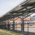Architectural Solar Canopy, Edgewood KY, Atkins and Stang