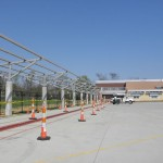 Perimeter Solar Canopy over School Bus Drop Off Area, Atkins and Stang