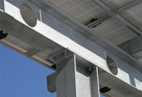solar carport aluminum racking