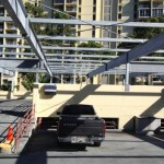 Structural Solar Canopy on CIP Parking Deck,  PhotonWorks