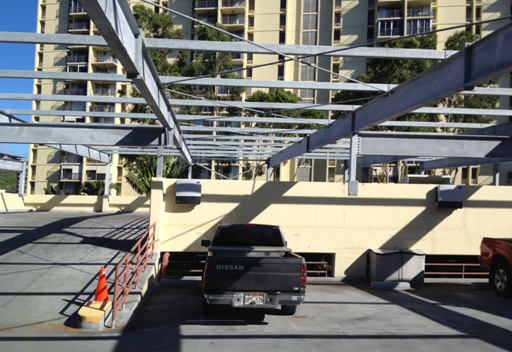 425-KW-Installation-on-top-of-Parking-Deck-Oahu-HI1