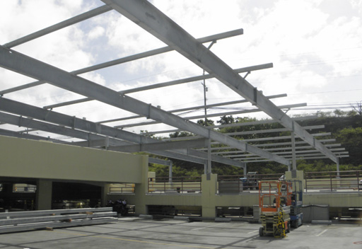 425-KW-Installation-on-top-of-Parking-Deck-Oahu-HI2